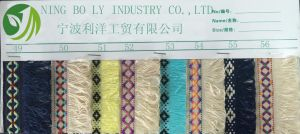 Polyester Jacquard Woven Tape 49-56 pictures & photos