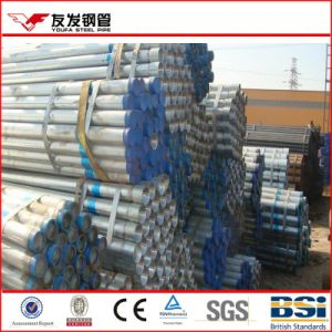Socket Mild Gal Steel Pipe by Lgj pictures & photos