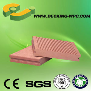 Solid Decking Board Wood Plastic Composite 140X25mm pictures & photos