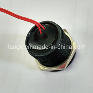 22mm IP68 Waterproof Black Aluminum Piezo Switch pictures & photos