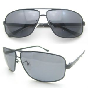 Cheap Promotion Design Metal Polarized Sunglasses pictures & photos