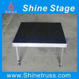 Used Outdoor Concert/ Wedding Carpet Portable Stage Platform, Aluminum Stage Deck for Sale pictures & photos