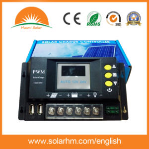 12V/24V 50A PWM LED Solar Power Controller pictures & photos