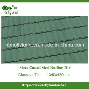 Stone Coated Metal Roof Tile (Classical Type HL1102) pictures & photos