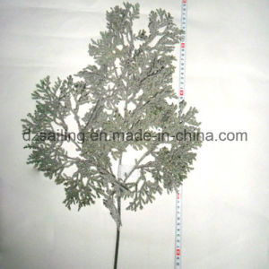 Artificial Leaves Christmas Flower Winter Decoration (SHL15-F509) pictures & photos