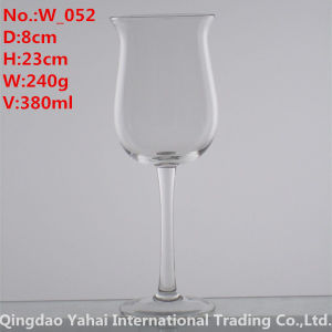 380ml Clear Color Wine Glass pictures & photos