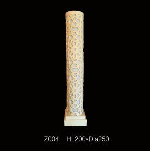 Sandstone Carved Resin Sculpture LED Light Columnar Lantern with Loudspeakers pictures & photos