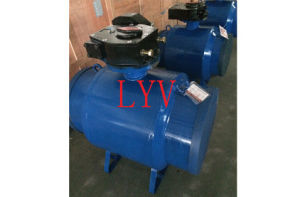 Worm Gear Fully Welded Big Size Ball Valve pictures & photos