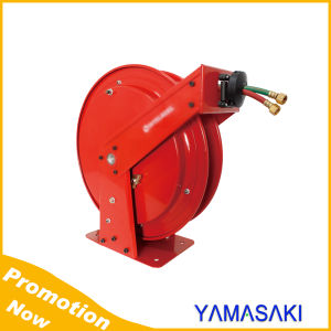Double Suport Welding Dual Air Hose Reel pictures & photos
