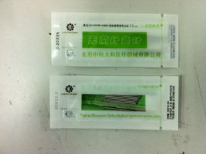 Disposal Acupuncture Needles 500 PCS / Zhongyantaihe Brand pictures & photos