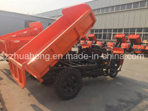 Electric Mining Tricycle /Used on Tunnel Mini Diesel Dumper/Small Truck in Peru pictures & photos