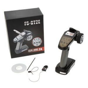 Fs-Gt2e-2A 2.4GHz 2CH Radio System Transmitter for RC Car Boat with Fs-A3 Receiver pictures & photos