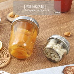 Cereal and Nut Storage Glass Bottle Glass Jar pictures & photos