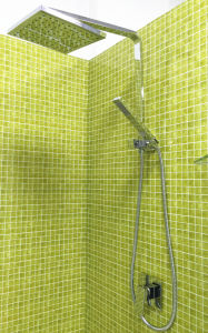 Watermark Chrome Plated 8 Inches Square Shape Shower Set (12B-602) pictures & photos