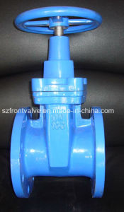Non Rising Stem Resilient Seat DIN F4 Ductile Iron Gate Valve pictures & photos