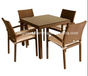 Rattan Tables and Chairs in Restaurant pictures & photos