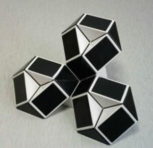 New Style OEM Magic Cube Snake Puzzle pictures & photos