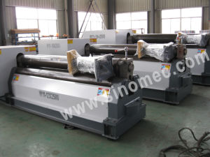 Rolling Machine/Mechanical Symmetrical 3 Roller/Plate Bending Machine (W11-8X2500) pictures & photos