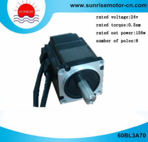 60bl3a70 BLDC Motor Electric Motor 48V 156W 3000rpm 0.5nm pictures & photos