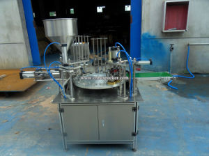 Auto Rotary Type Cup Beverage Filling Sealing Machine pictures & photos