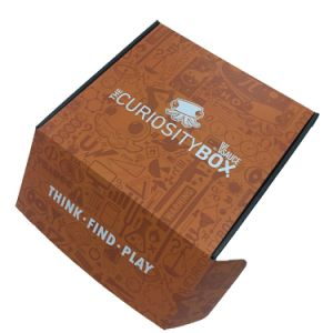 Custom Designed Two Sides Printing Corrugated Shipping and Packing Box pictures & photos