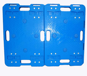Best Quality Blue Plastic Dolly /Trolley pictures & photos
