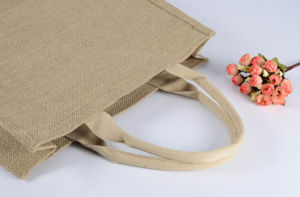 2016 Promotional Natural Grocery Tote Jute Bag (TP-SP531) pictures & photos