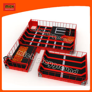 Cheap Rectangular Kids Wholesale Indoor Trampoline Bed Park pictures & photos