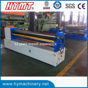 W11f-4X2500 Mechanical 3 Rollers Asymmetrical Steel Plate Bending Machine pictures & photos
