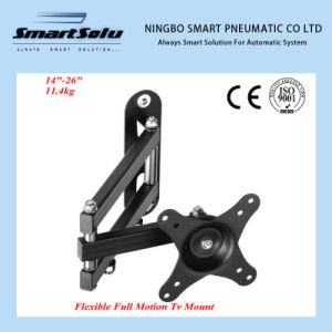 Flexible Articulation LCD TV Mount Wall Mount Bracket Ya01 pictures & photos