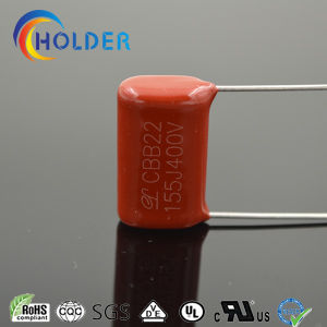 Metallized Ploypropylene Film Capacitor (CBB22 155/400) with High Stability and Self-Healing Properties pictures & photos