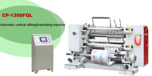 Cp-Fql Automatic Vertical Slitting and Rewinding Machine pictures & photos