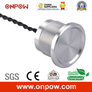 Onpow 22mm Piezoelectric Switch with Finger Location (PS223Z10YSS1, CE, RoHS) pictures & photos