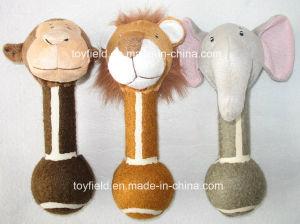 Dog Toy Plush Animal Squeaker Tennis Ball Pet Toy pictures & photos