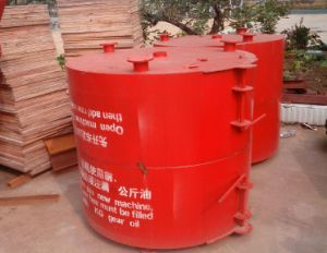 ISO Certification Jq350 Fixing Vertical Pan Revolving Paddle Concrete Mixer pictures & photos