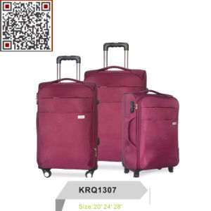 Nylon Inside Trolley Luggage Travel Bag pictures & photos