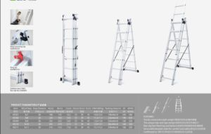 3 Section Extension Ladder pictures & photos