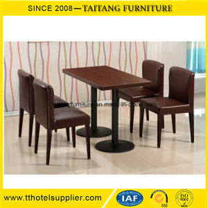 Custom-Made Fast Food Restaurant Table Chair Set pictures & photos