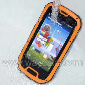 IP67 Waterproof Phone of Dual SIM 3G Quad Core China Phone Made-in-China