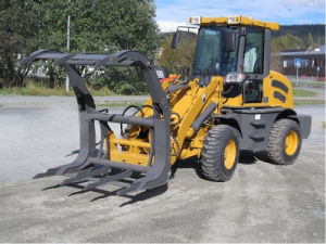 Zl16 Case Loader Small Front End Loader with SMS/Trima Quick Hitch pictures & photos