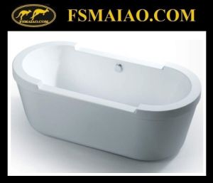 Bathroom Simple Acrylic Freestanding Bathtub (BA-8509) pictures & photos