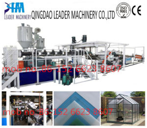 Plastic Sheet Machine PC Polycarbonate Solid Sheet Machine pictures & photos