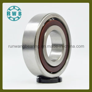 Single Row Angular Contact with Bakelite Holder Bearing, Factory Production (7310AC)