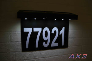 Fq-541 Solar House Numbers Light Door Numbers Light pictures & photos