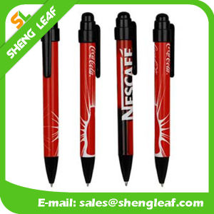 Promotional Plastic Ball Point Pen for Office Supply (SLF-PP022) pictures & photos