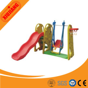 Plastic Kids Swing and Slide Set for Playground pictures & photos