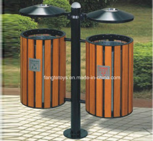 Park Bins, Trash Bin, Dustbin for Public Place, Outdoor Dustbins FT-Ptb006 pictures & photos
