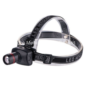 Portable Camping Outdoor Light 1watt LED Telescopic Zoom Headlamp (MK-3348)