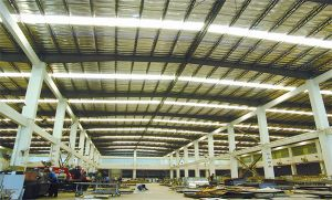 Prefabricated Factory Shed Steel Structure pictures & photos