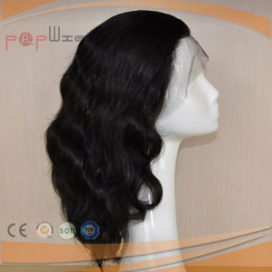 100% Dyeable Full Cuticle Intact on Front Lace Human Hair Wig pictures & photos